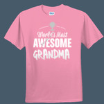 Worlds Most Awesome - Ladies Soft-style T