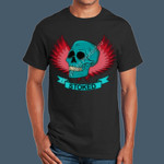 Skull-Blue - Adult Ultra Cotton T