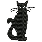 Embroidered Cat Designs